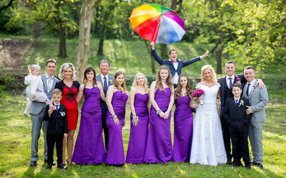 """""""Voltak angolok, skótok, írek is és nagyon tetszett nekik a magyar esküvő!"""""""