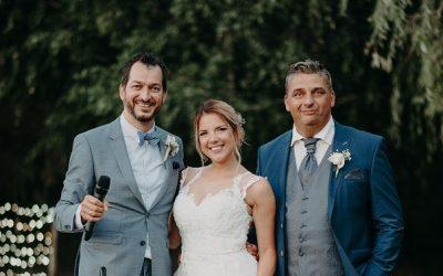 Kivételes esküvő a ceremóniamester életében: Pilla és Attila, Kecskemét